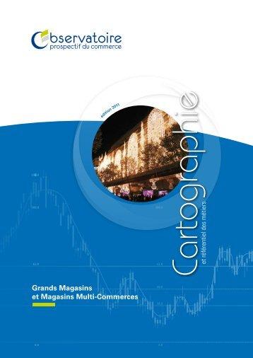 cartographie Grands Magasins et Magasins Multi-Commerces - Forco
