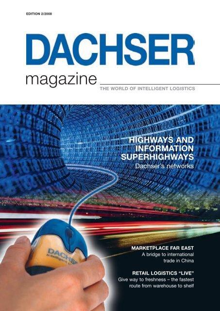 DACHSER magazine Edition 02-2008 - dachser.sk