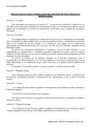 PRECIO PUBLICO POR LA PRESTACION DEL SERVICIO DE ...