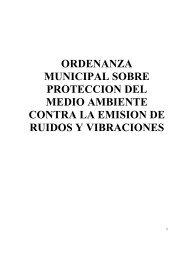 ordenanza municipal sobre proteccion del medio ambiente contra la ...