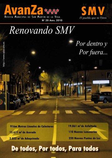 Renovando SMV - Ayto San Martín de la Vega