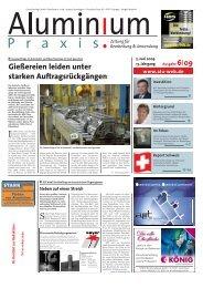 Leseprobe Aluminium Praxis - Alu-web.de