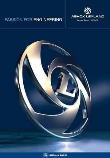 Annual Report 2006-2007 - Ashok Leyland