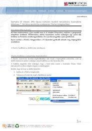 Windows 7 64 bit beállítási útmutató