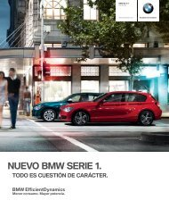 NUEVO BMW SERIE �.
