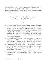BME Tudományos Diákköri Szabályzat - BME Központi Tanulmányi ...