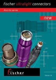 Aluminum Connectors Catalogue - Fischer Connectors