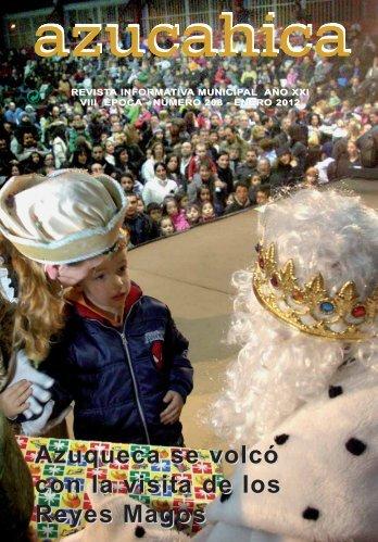 Azuqueca se volcó con la visita de los Reyes Magos - Ayuntamiento ...
