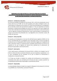 Tasa Licencias urbanísticas - Ayuntamiento de Azuqueca de Henares