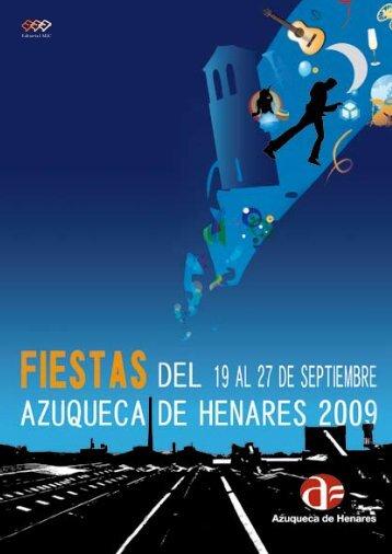 programa de fiestas (pdf) - Ayuntamiento de Azuqueca de Henares