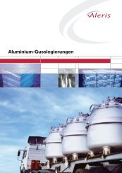 Aluminium-Gusslegierungen - Aleris