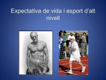 Expectativa de vida i esport d'alt nivell - 25 Jornades de Medicina de ...
