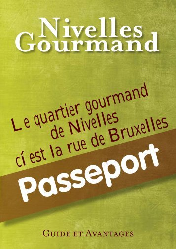 Nivelles - Passeport gourmand