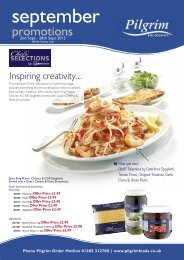 september - Pilgrim Foodservice