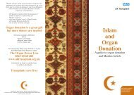 Islam and Organ Donation