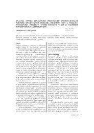 analýza vývoje finančních prostředků institucionální podpory ...