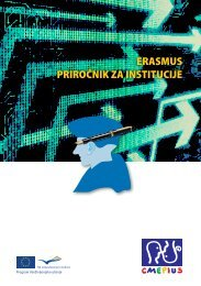 Erasmus priročnik za institucije (2011) - Cmepius