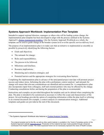 implementation approach template - nursing bundle implementation work plan template bedside shift