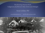 Decolonising Trauma Work: Indigenous practitioners share ... - EENet