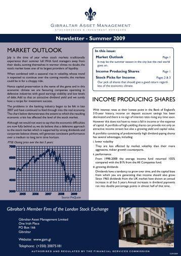 read - Gibraltar Asset Management Limited