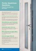 Alu-Haustüren Classic, Elegance und DeLuxe - Fischer Fensterbau - Seite 2