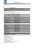 BEZPEČNOSTNÍ LIST podle nařízení Evropského parlamentu a Rady - Page 5