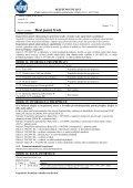 BEZPEČNOSTNÍ LIST podle nařízení Evropského parlamentu a Rady - Page 7