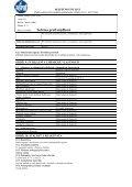 Bezpečnostní list - PEMA Velkoobchod drogerie - Page 5