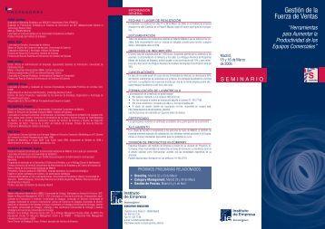 maqueta seminario 29,7X42 - IE Executive Education