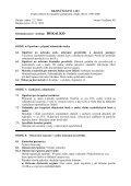 Bezpečnostní list - PEMA Velkoobchod drogerie - Page 4