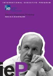 Imprimir FOLLETO IE 4 CURSOS v6.qxp - IE Executive Education