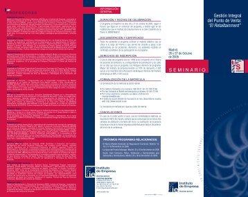 Seminario Retailtainment - IE Executive Education