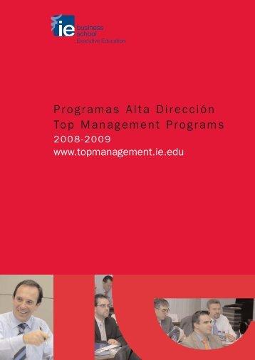 Folleto AD 17x24 - IE Executive Education