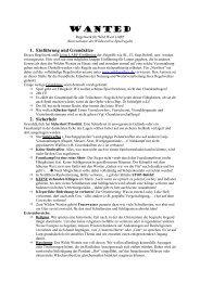 WANTED 1.2. Kurzfassung Regeln Wild West Larp - Atakanies ...