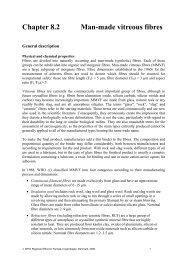 Chapter 8.2 Man-made vitreous fibres - World Health Organization ...