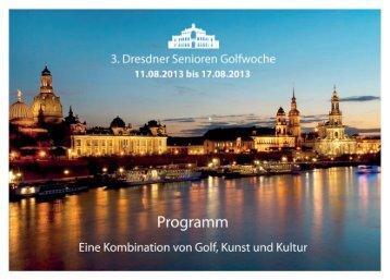 Programmheft 2013 - AF-Golf