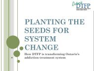 PLANTING THE SEEDS FOR SYSTEM CHANGE - EENet