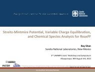 q - Lammps - Sandia National Laboratories