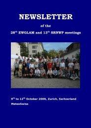Proceedings - C-SRNWP Project