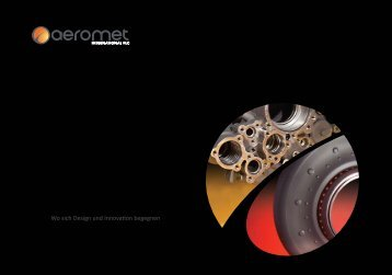 Wo sich Design und Innovation begegnen - Aeromet International PLC