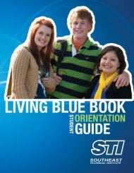 LIVING BLUE BOOK - Southeast Technical Institute