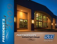PRESIDENT 'S - STInet - Southeast Technical Institute