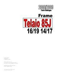 2009 - Telaio 85 Junior - TM Racing