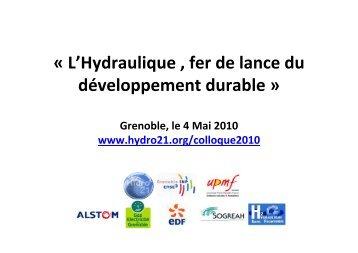 Remise du prix Hydro 21 à des projets étudiants (0,1 Mo )