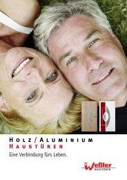 Weßler Holz-Aluminium Haustüren Katalog - Schoener-bauen24.de