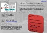 Firmensteckbrief lmgressum - CAD-therm