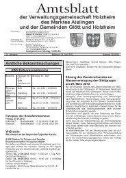 Holzheim KW 16
