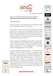 (PDF, 480 KB) - Update: 03.05.2013 - BIKE Festival Riva