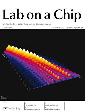 Miniaturisation for chemistry, biology & bioengineering