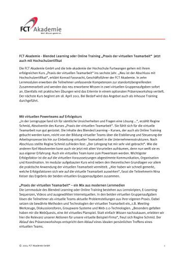PDF-Download - FCT Akademie